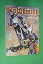 MOTOCROSS 2 FEBBRAIO 2001 HUSQVARNA WR 125 250 TM 125 250 ENDURO/JARNO BOANO/MIG