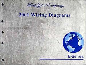2001    Ford    Econoline Van    Wiring       Diagram    Manual Club Wagon