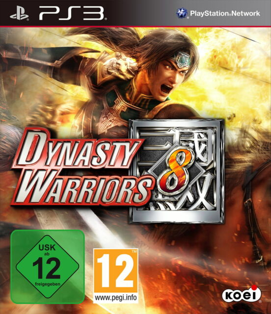 Dynasty Warriors 8 (Sony PlayStation 3, 2013, DVD-Box)