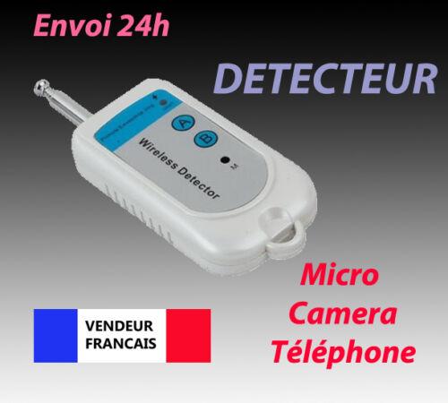 TRACEUR EMETTEUR RADIO DETECTEUR DE CAMERA MICRO ESPION FREQUENCE GSM WIFI