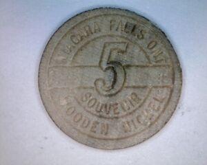 Niagara-Falls-5-Cent-WOODEN-NICKEL