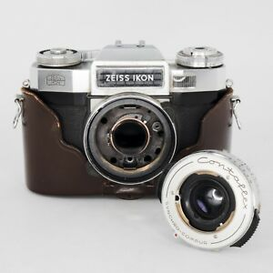 Zeiss Ikon Film Camera & Contaflex Synchro-Compur Lens for ...