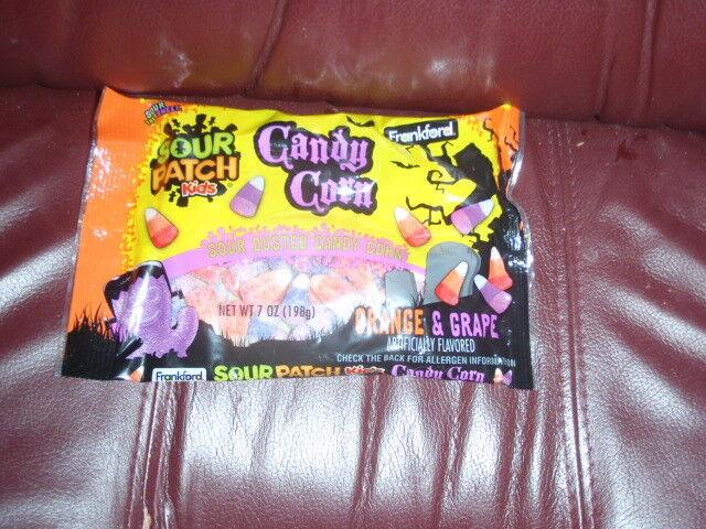 NEW Sour Patch Kids Orange & Grape Candy Corn Candy 7OZ BAG