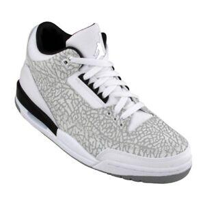 New Vintage Nike Air Jordan Big Kids 3 Retro Flip GS 315768-101 sz 4 ... fb103e1911