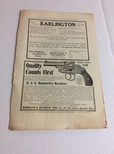 1906 MAGAZINE AD #A3-168 - H. & R. Hammerless Revolvers
