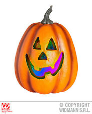 Halloween Pumpkin W/ Color Changing Flashing Led Light Decoration for Halloween