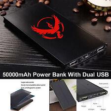 POKEMON 50000mah SOLAR POWER BANK CARICA BATTERIA PORTATILE USB PER IPHONE SAMUNG
