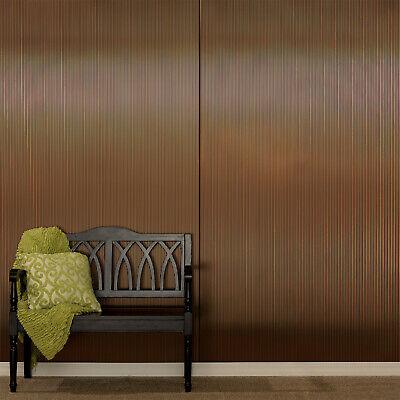 Fasade Rib 4ft X 8ft Decorative Wall Panel Ebay