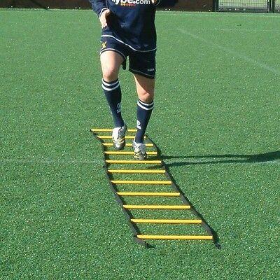 4m Speed Agility Sports Training Ladders 6 4 Way Cross Flat Round Football Ebay