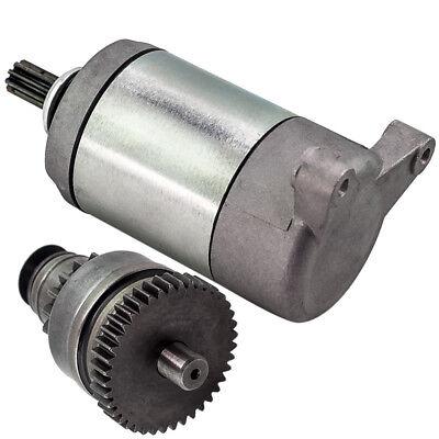 for Polaris ATV starter motor/&drive gear combo 500 Big Boss Ranger Sportsman 6x6
