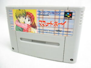 Super-Famicom-MARMALADE-BOY-Nintendo-Cartridge-Only-sfc