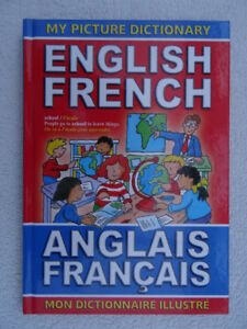 English-French-Picture-Dictionary-Hardback-Over-350-First-Words-Illustrated