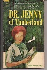 DR. JENNY OF TIMBERLAND ~ AVON F207 1964 ISBEL STEWART WAY DOCTOR ROMANCE READER