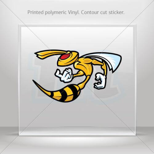 Decals Sticker Bee Hornet Wasp Car Motorbike Bike vinyl bike st5 XXWW7