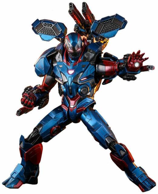 New!HotToys HT MMS543D34 Avengers Endgame Iron Patriot 1//6 Scale War Machine !!!