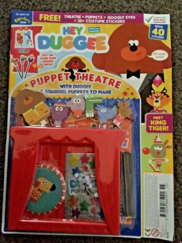 Hey Duggee Toys Figures Magazine Puppet Theatre And Squirrel Puppets issue 15