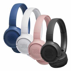 JBL-T500-BT-On-Ear-Kopfhoerer-Bluetooth-Kabellos-Faltbar-Pure-Bass-Headphones