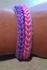 Rainbow Loom Funky Fishtail Bracelets (Reversible)