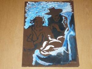 ARTS-XX-RUSZKOWSKI-Zdzislaw-1907-1990-OEUVRE-ORIGINALE-1955-Pologne-UK