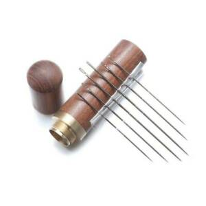 1xPractical-Stainless-Steel-Self-threading-Needles-Opening-Sewing-Darning-Set