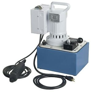 Hydraulic Pump 2 Stage - Axial Piston Pump - 10,000 PSI - 1 1/8 HP - 12,000 RPM