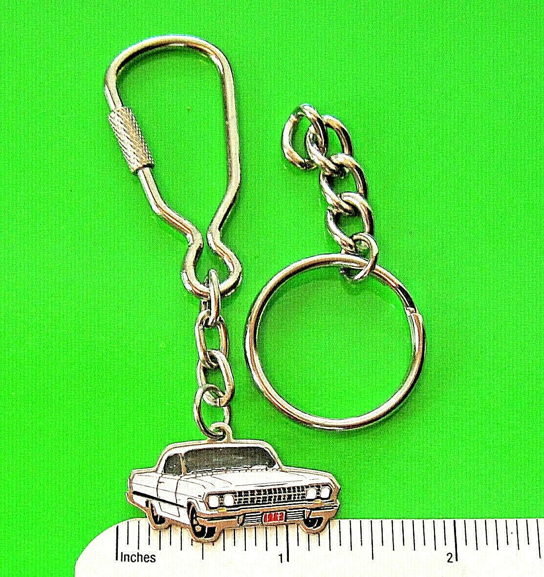 Big-Block engine Muscle Car Cute Car keychain Sleutelhanger Boyfriend   keychain,gift BAE gift Chevy Impala keychain 1961
