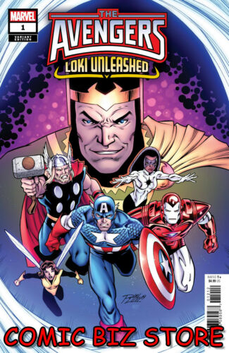 2019 AVENGERS LOKI UNLEASHED #1 1ST PRINTING RON LIM VARIANT COVER $4.99
