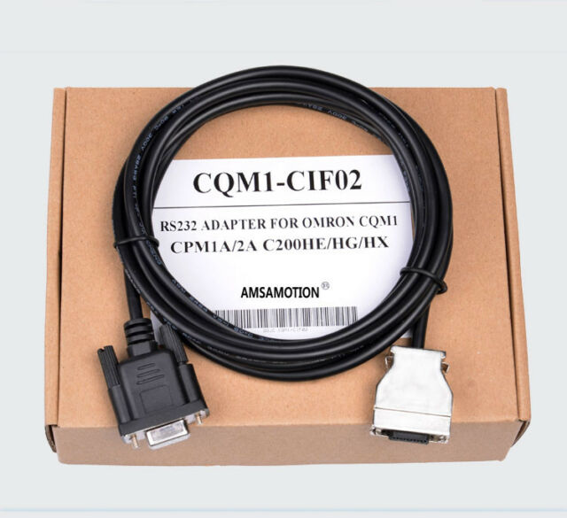 NEW CQM1-CIF02 USB-CIF02 PLC COMMUNICATION 3.3M CABLE FOR OMRON