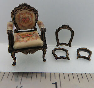 KIT-French-Country-Roses-Upholstered-Chair-Laser-Cut-Kit-1-48-1-4-034-dollhouse
