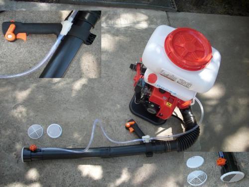 Baumspritze Sprühgerät Motorsprüher Motorspritze,26L Motorsprühgerät