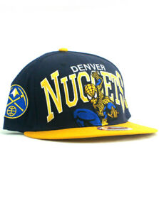 brand new a2dfd 9b769 Image is loading New-Era-NBA-Denver-Nuggets-9fifty-Snapback-Hat-