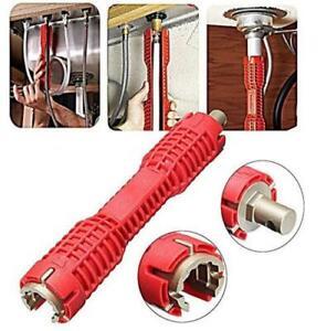 Tool Water pipe wrench Installer Multifunction Nut Plumbing Repair Spanner Close