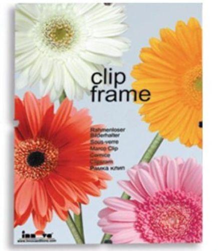 Innova editions 50 x 75 cm//30 x 20 pouces plastique verre de sécurité cadre pour photo