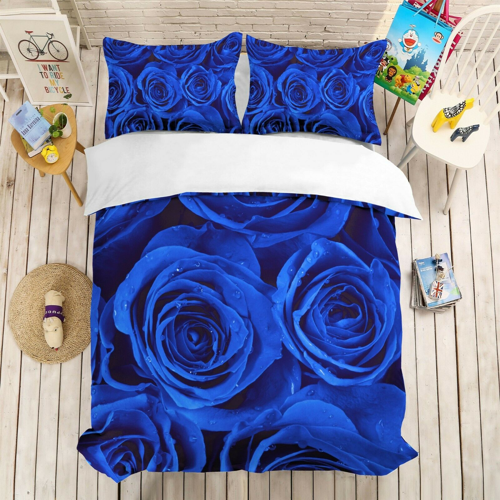 3D blu Enchantress Quilt Cover Set Bedding Duvet Cover Single Queen King 3pcs 7