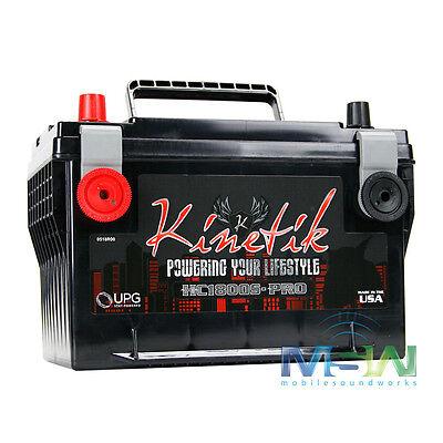 KINETIK HC1800S-PRO 1800W 12V CAR AUDIO POWER CELL BATTERY KHC1800S HC1800SPRO