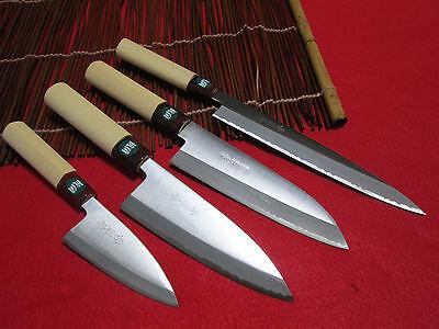 MADE IN JAPAN Kai Japanese Sushi Sashimi Santu Deba KASUMI Chef Knife KAI