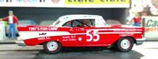 #55 TINY LUND Tiny's Fish Camp 1957 Chevrolet 1/32nd Scale Slot Car Decals