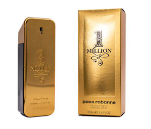 1-ONE-MILLION-PACO-RABANNE-Cologne-for-Men-3-3-3-4-oz-EDT-NEW-IN-BOX