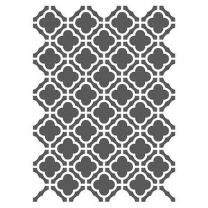 Moroccan Stencils Template Small Scale For Crafting Canvas Diy