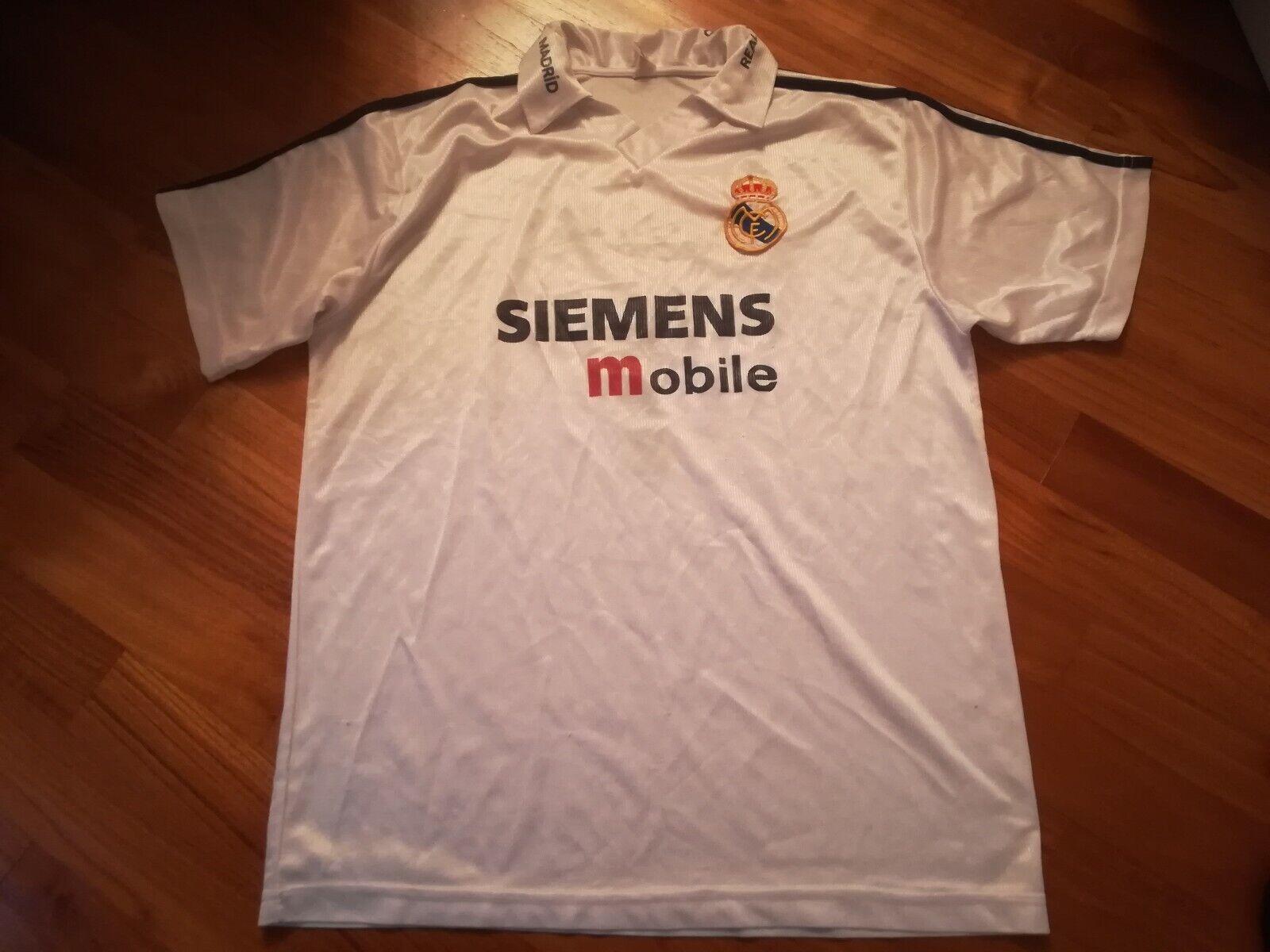 Maglia maillot shirt calcio football no matchworn REAL MADRID camiseta soccer
