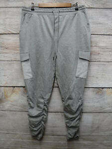 69e2464bcd22 LAZER Mens Size Extra Large XL Ruched Leg Thin Knit Cargo Jogger ...