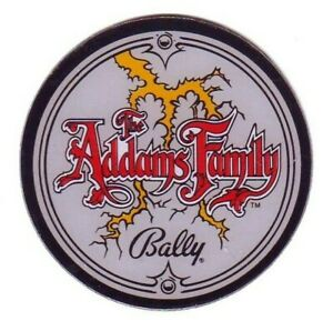 The-ADDAMS-FAMILY-Bally-Plastic-Promo-Pinball-Machine-Coaster-1991-Great-Gift