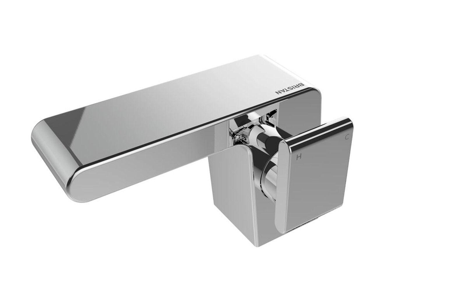 Bristan pivote grifos de Lavabo Conjunto Baño Ducha Nuevo Conjunto Lavabo de Baño Mono Cromo De Relleno 71cee8