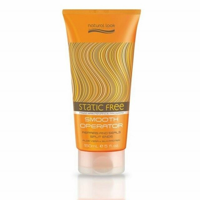 Natural Look Static Free Smooth Operator 150ml Repairs & Seals Split Ends-Frizz