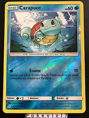 SL10:Alliance Infaillible Carte Pokemon Neuve Française 33//214 Carapuce