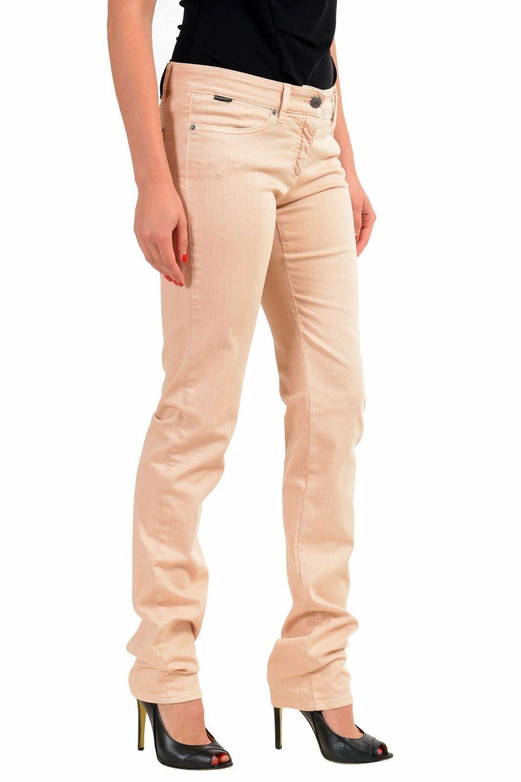 Viktor & & & Rolf Rosa Denim Damen Skinny Beine Jeans US S It 40 2e7350
