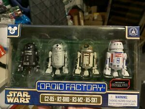 C2-B5, R2-BHD, R3-M2 /& R5-SK1 Star Wars Droid Factory Action Figure 4-Pack