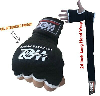 Inner Boxing Quick Hand Wraps Gloves Fist Gel Bandages MMA Muay Thai Strap