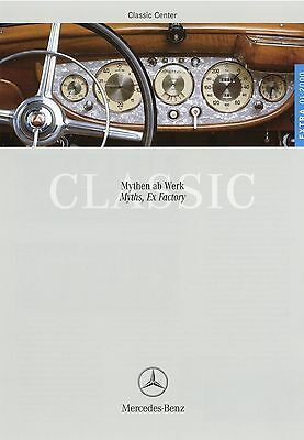 Mercedes Benz Classic Center Extra Prospekt D Gb 1/00 2000 630 K 380 230 Sl 300 äSthetisches Aussehen