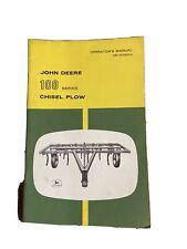 John Deere 100 Series Pull Chisel Plow Operators Manual Book Omn159014